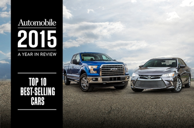 Top 10 Best Selling Cars 2015
