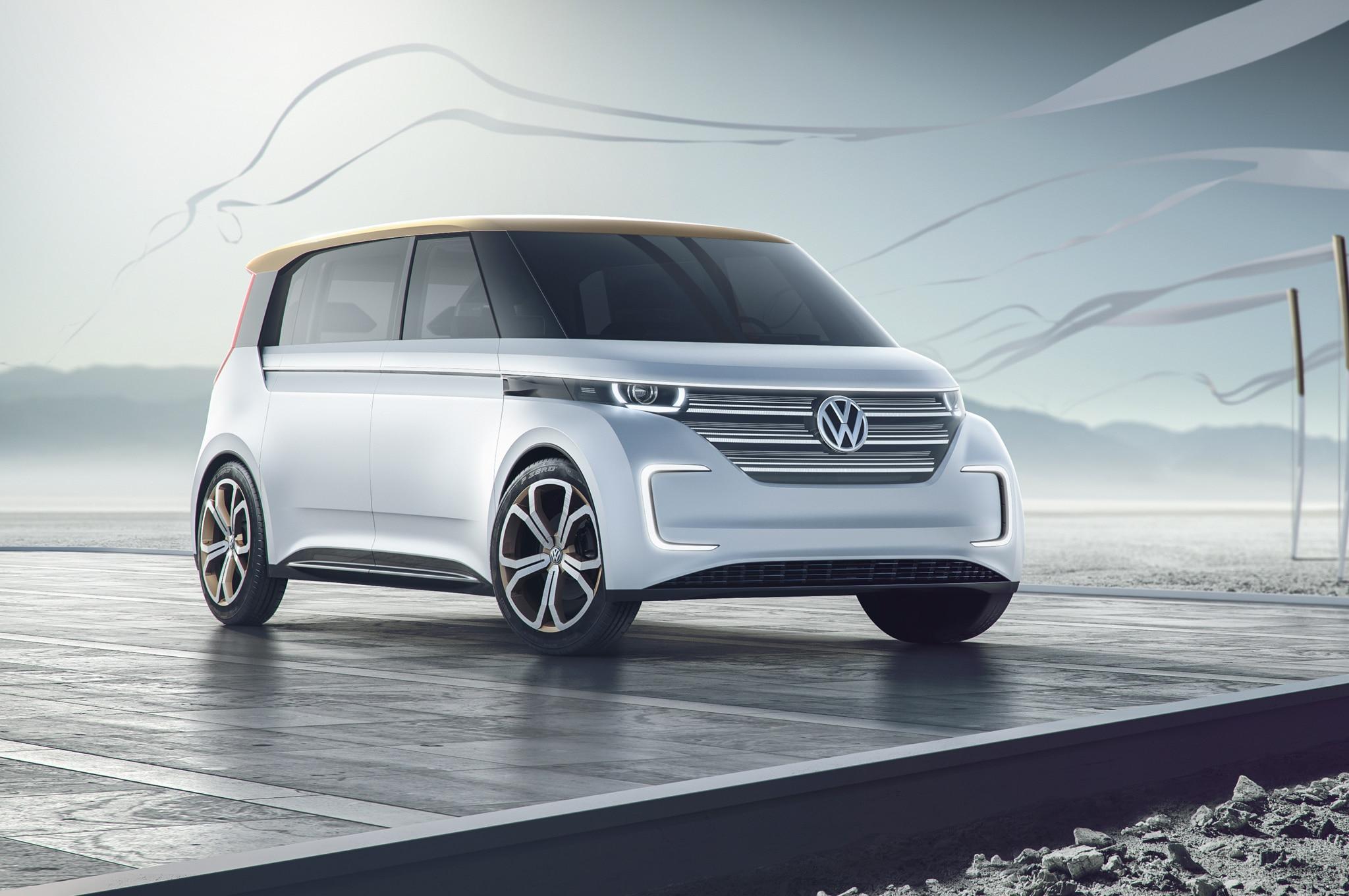 Volkswagen BUDD E Concept Front Three Quarters