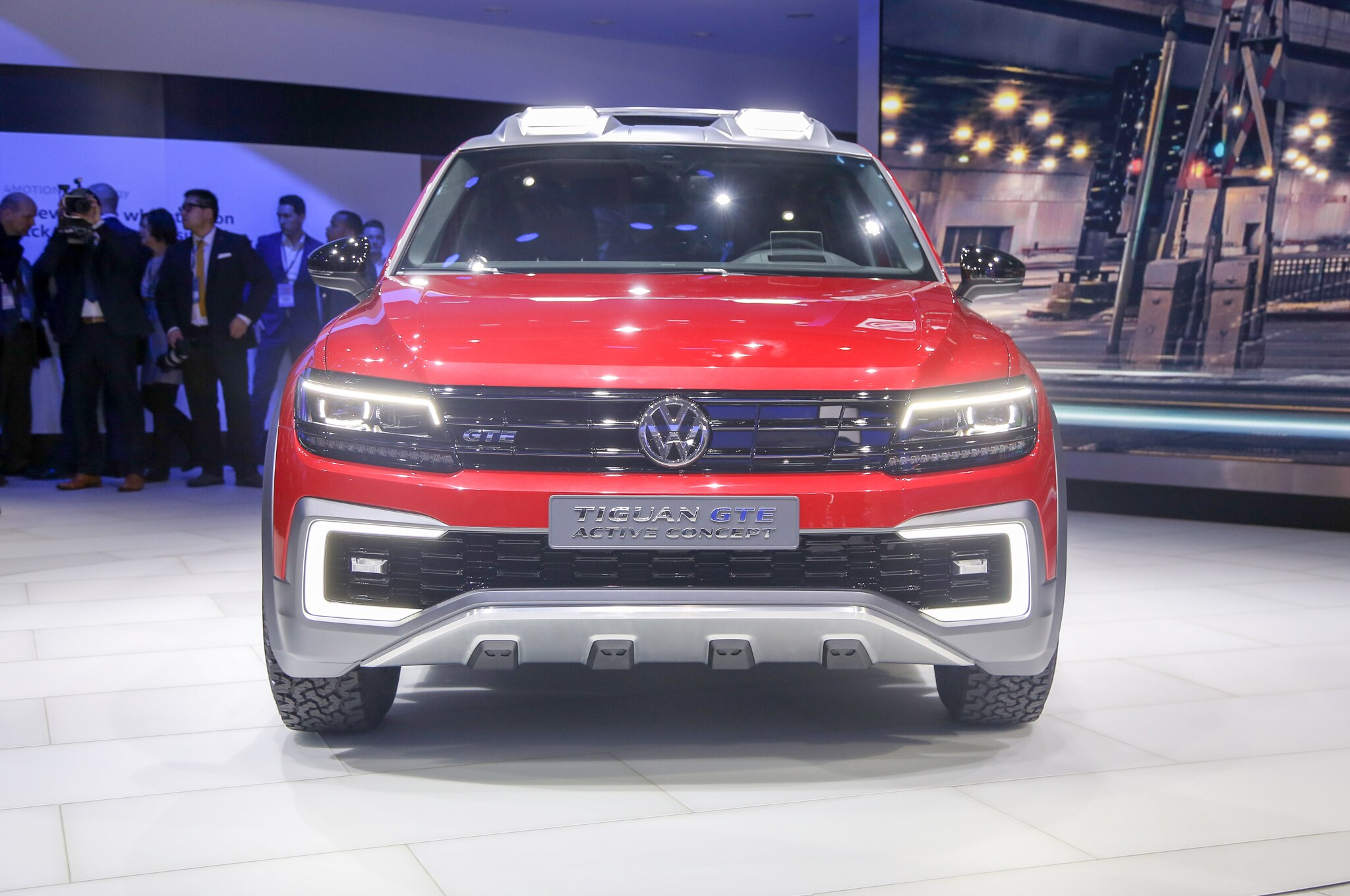 Volkswagen Tiguan Gte Active Concept Front End