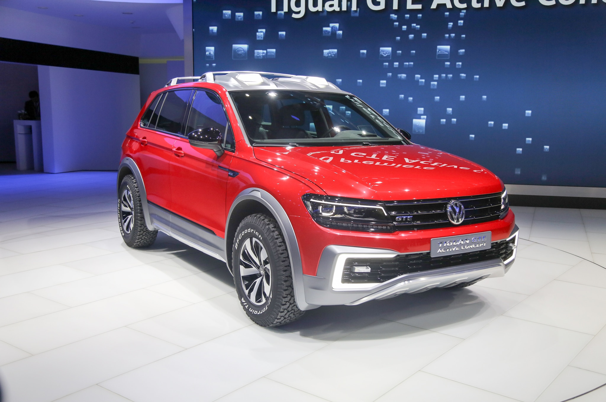 2018 VW Tiguan Hybrid: Rumor Or Reality? >> Volkswagen Tiguan Gte Active Concept Is An Awd Hybrid