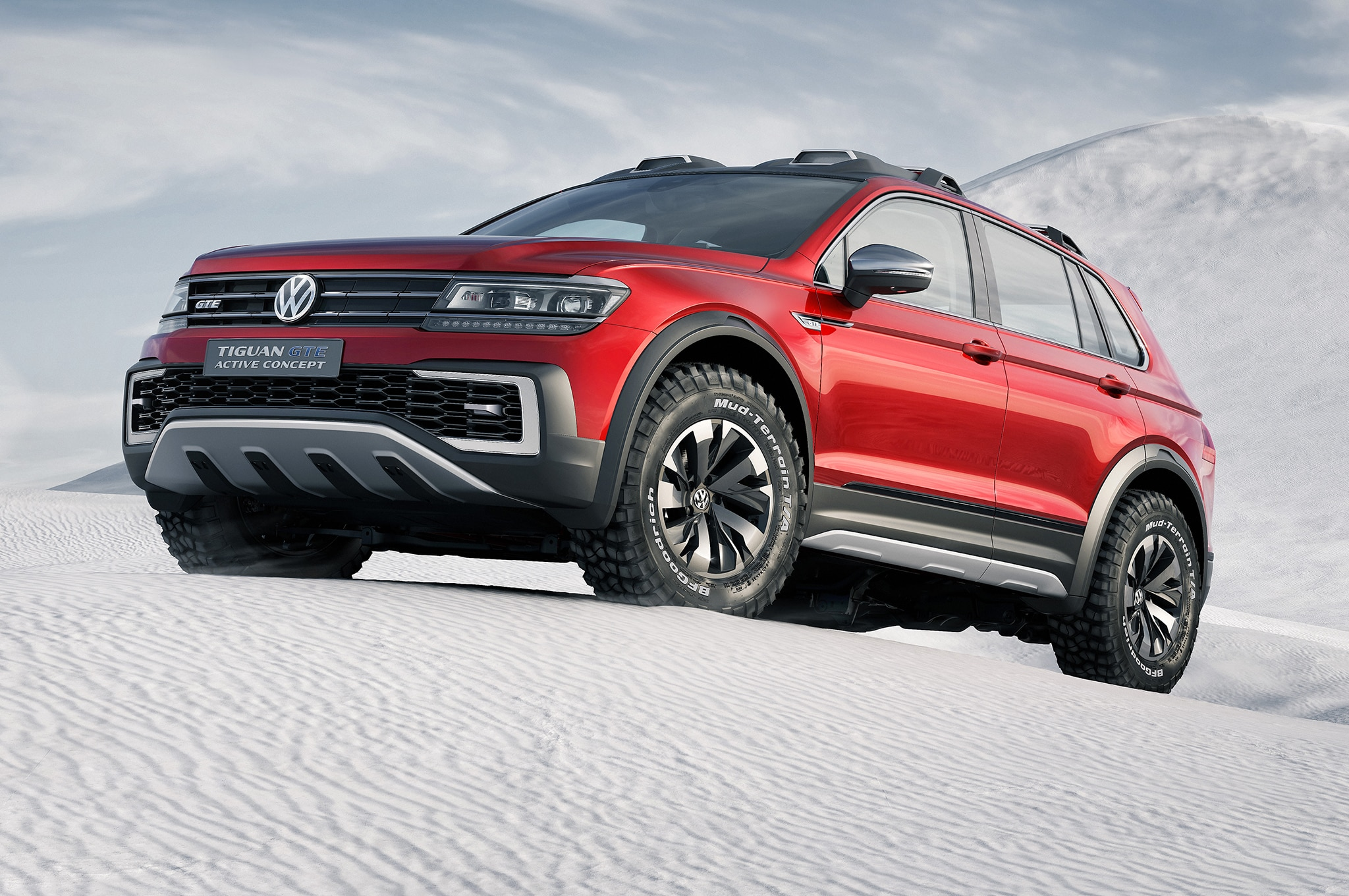 2018 VW Tiguan Hybrid: Rumor Or Reality? >> Volkswagen Tiguan Gte Active Concept Is An Awd Hybrid Crossover