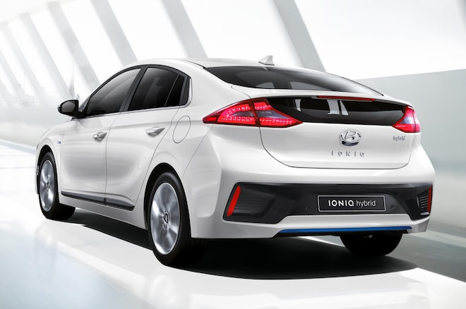 Hyundai Ioniq Rear 1