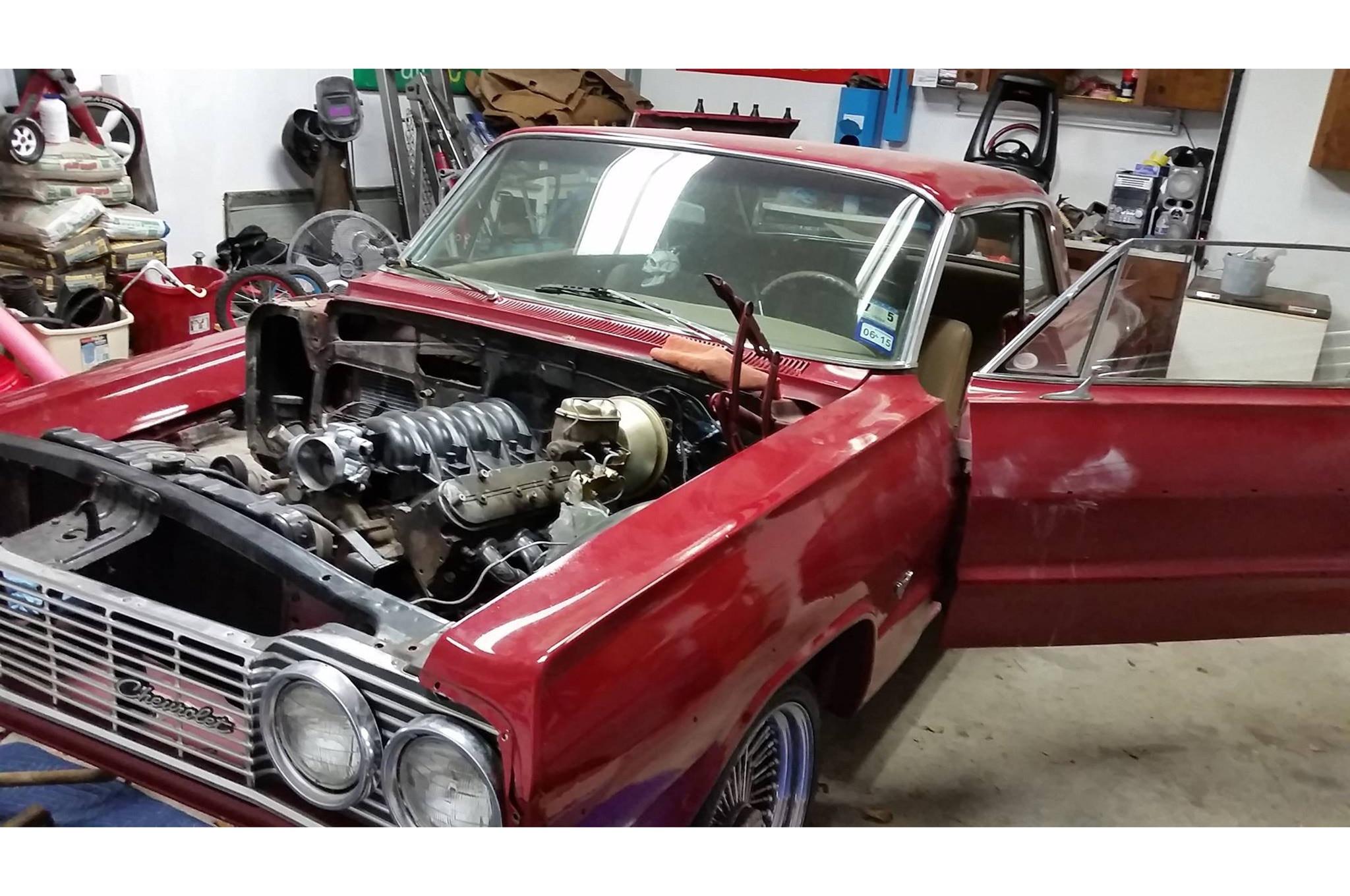 09 GM V10 Stillborn Prototype 1964 Impala