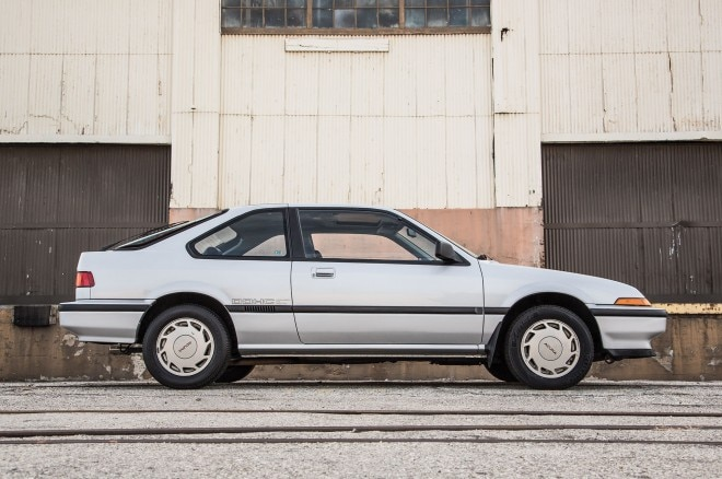 1986 Acura Integra LS Side Profile