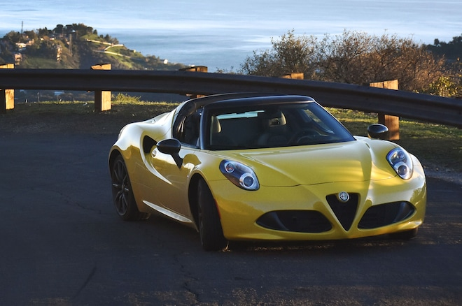 2015 Alfa Romeo 4c Spider The Agony And Ecstasy Automobile Magazine