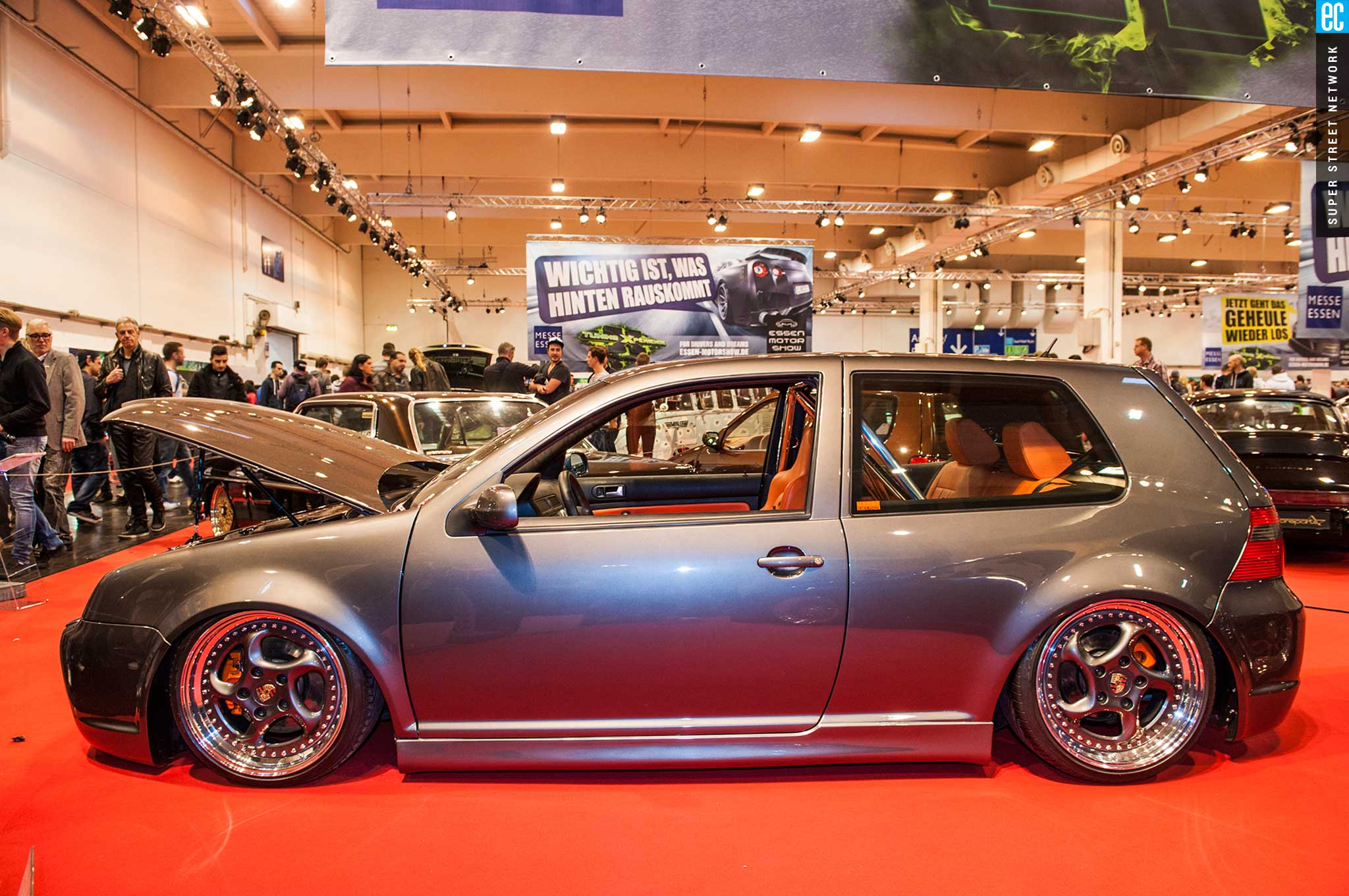 the wildest tuner cars at the 2015 essen motor show photo Golf 4 With R8 Audi Rims golf 6 air ride on audi r8 wheels 19