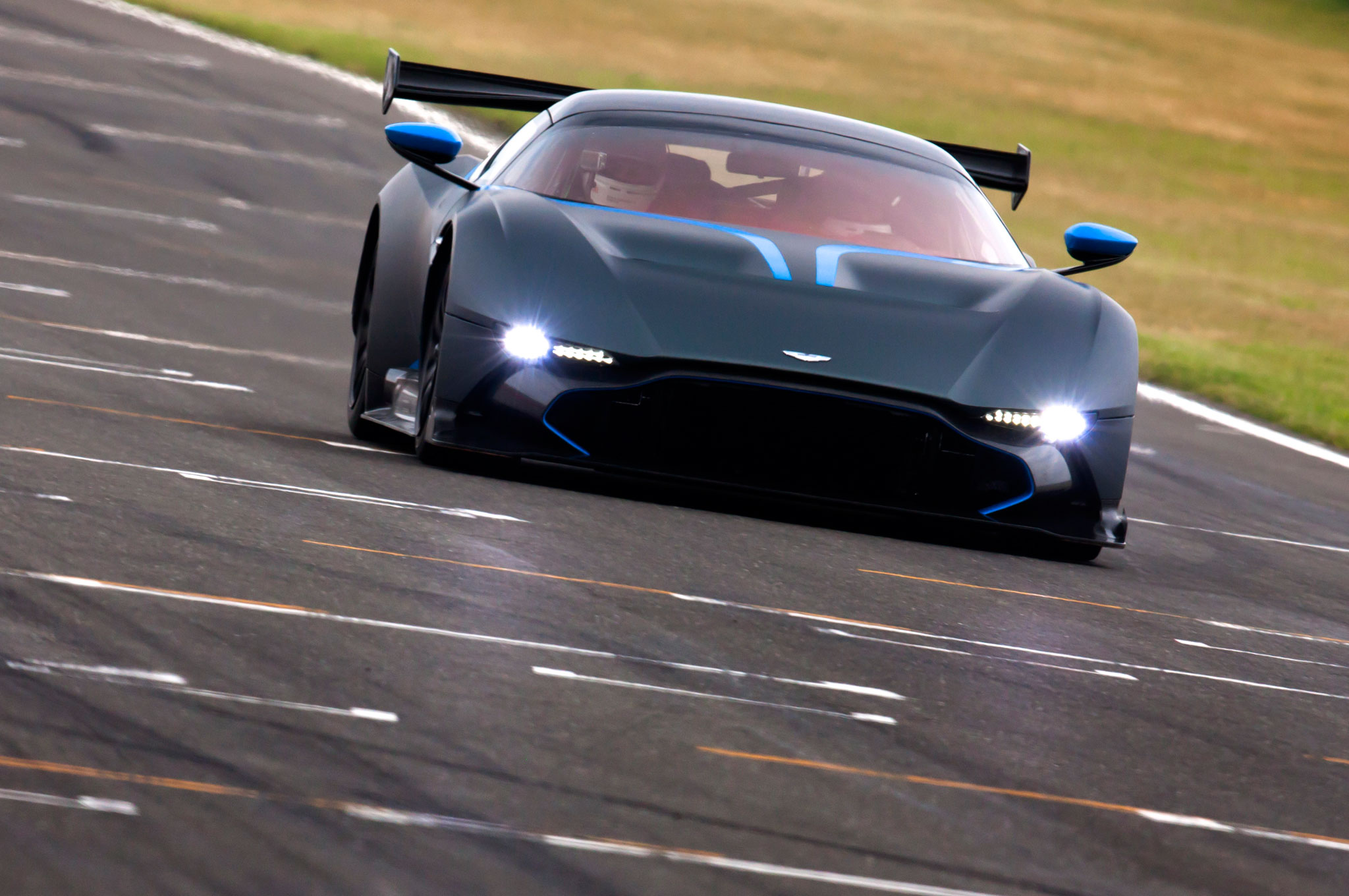 One of 24 Aston Martin Vulcan Track Cars Goes Up For Sale in Ohio