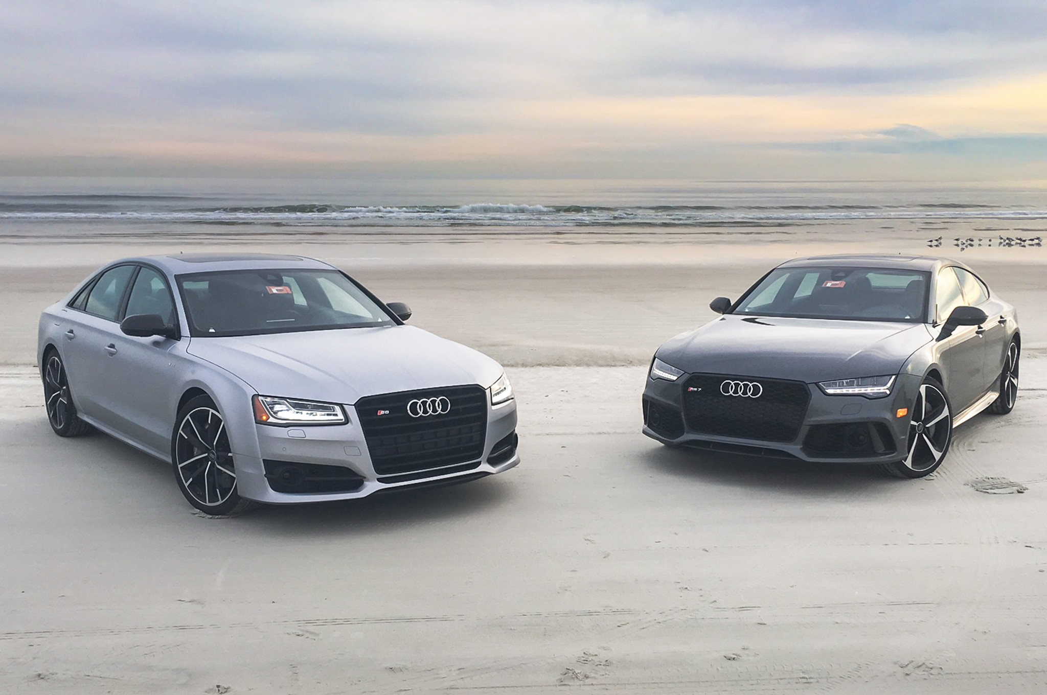 2016 Audi RS 7 And S8 Beach