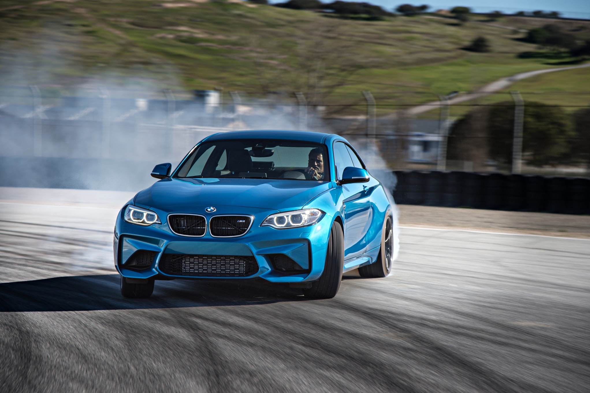 2016 BMW M2 Coupe Front Three Quarter In Motion 20