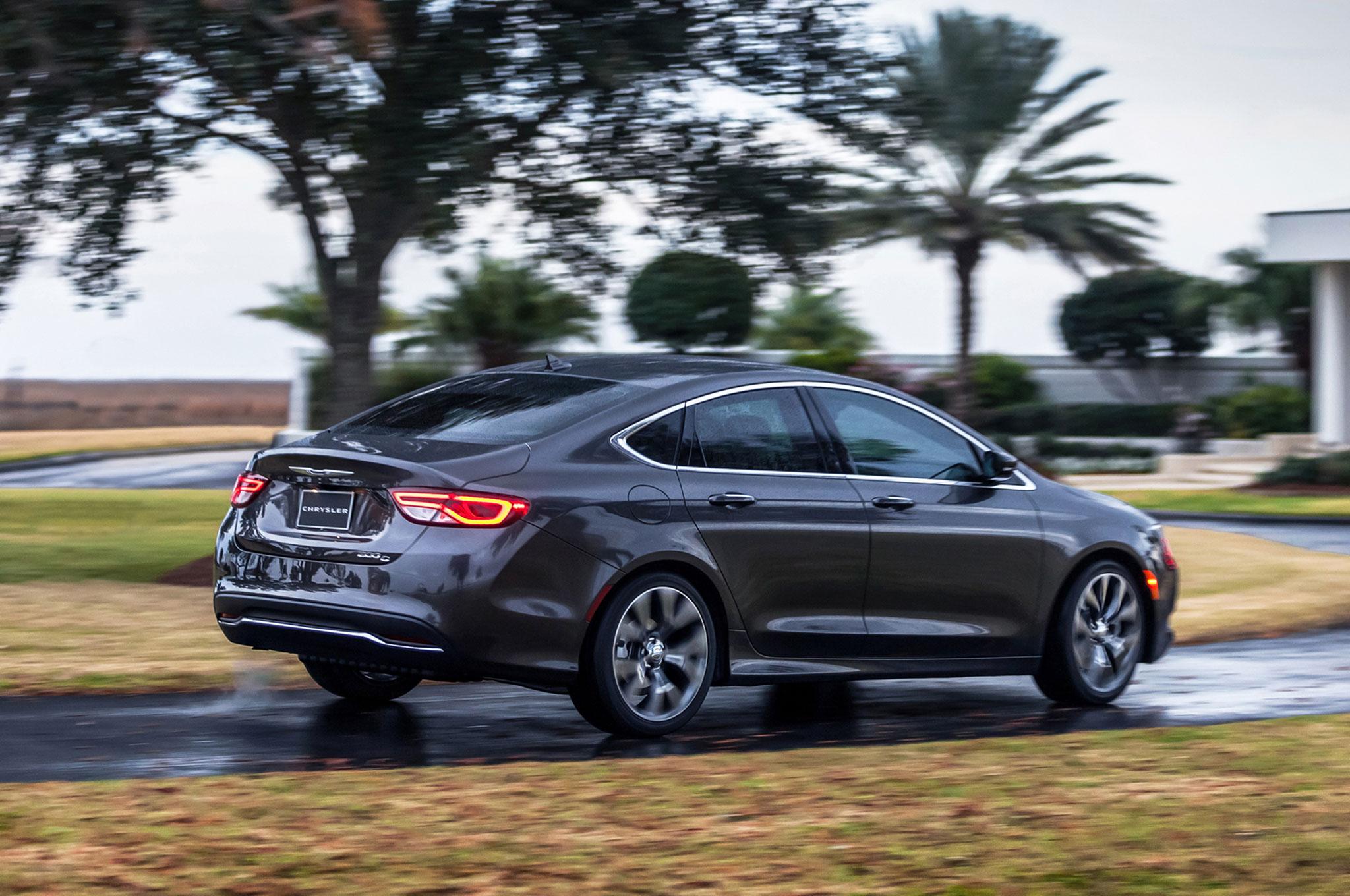 Chrysler 200 C >> 2016 Chrysler 200c Review
