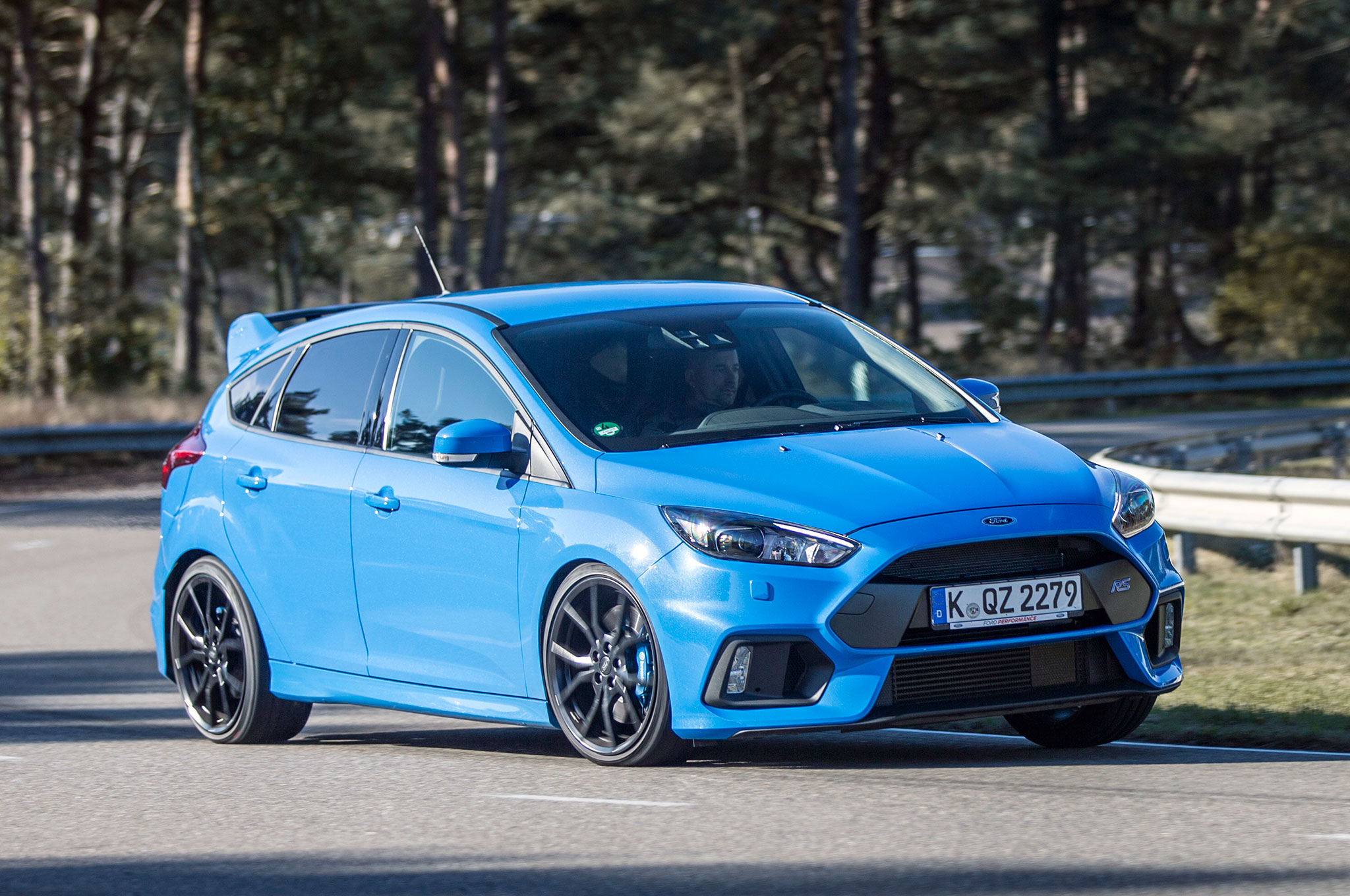 The 2016 ford focus rs was offered without
