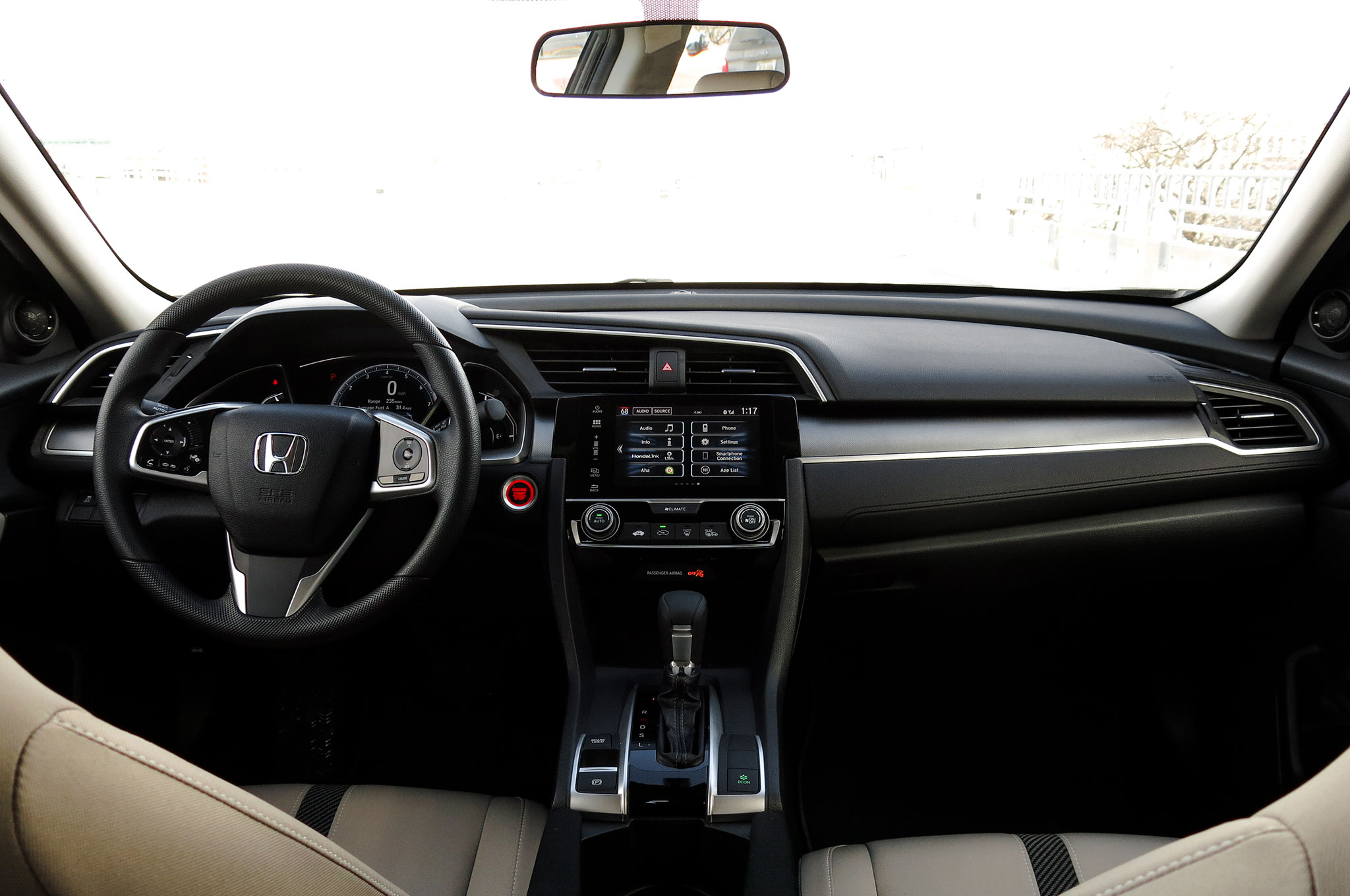 Interior Is Better Than Ever What Makes Driving The 2016 Honda Civic