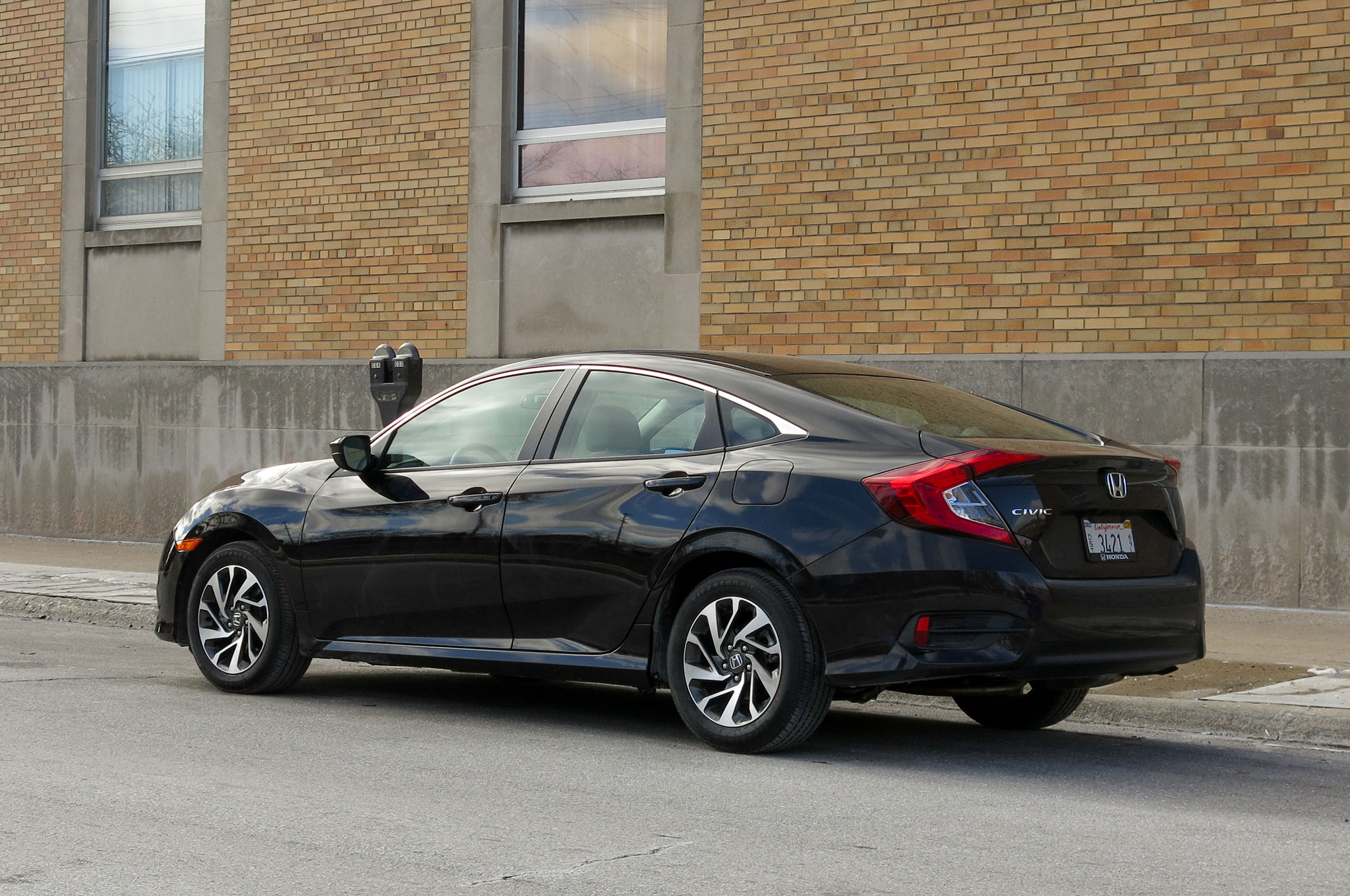 2016 Honda Civic EX Sedan Review