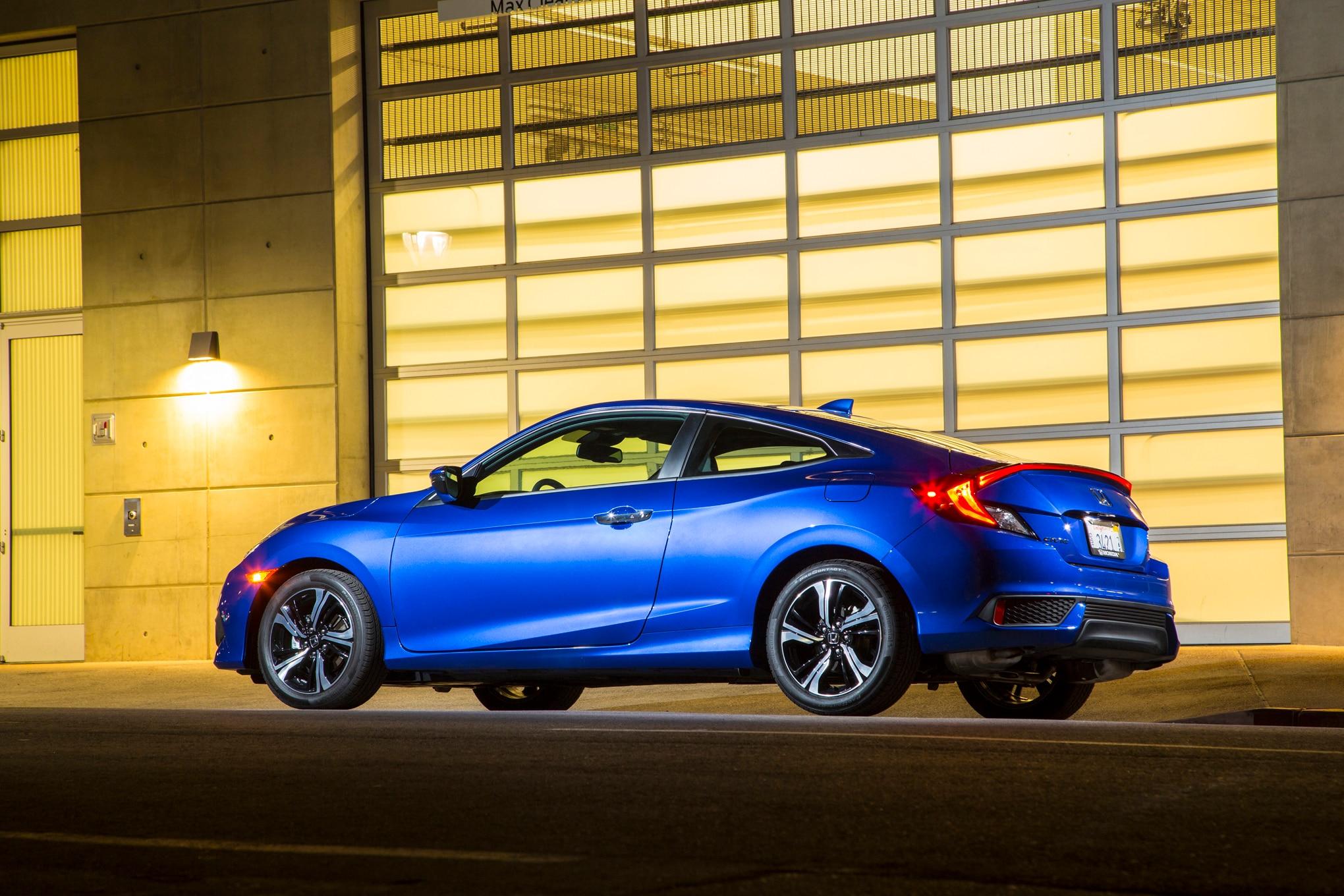 Honda Civic Coupe: 2016 Honda Civic Coupe Touring One Week Review