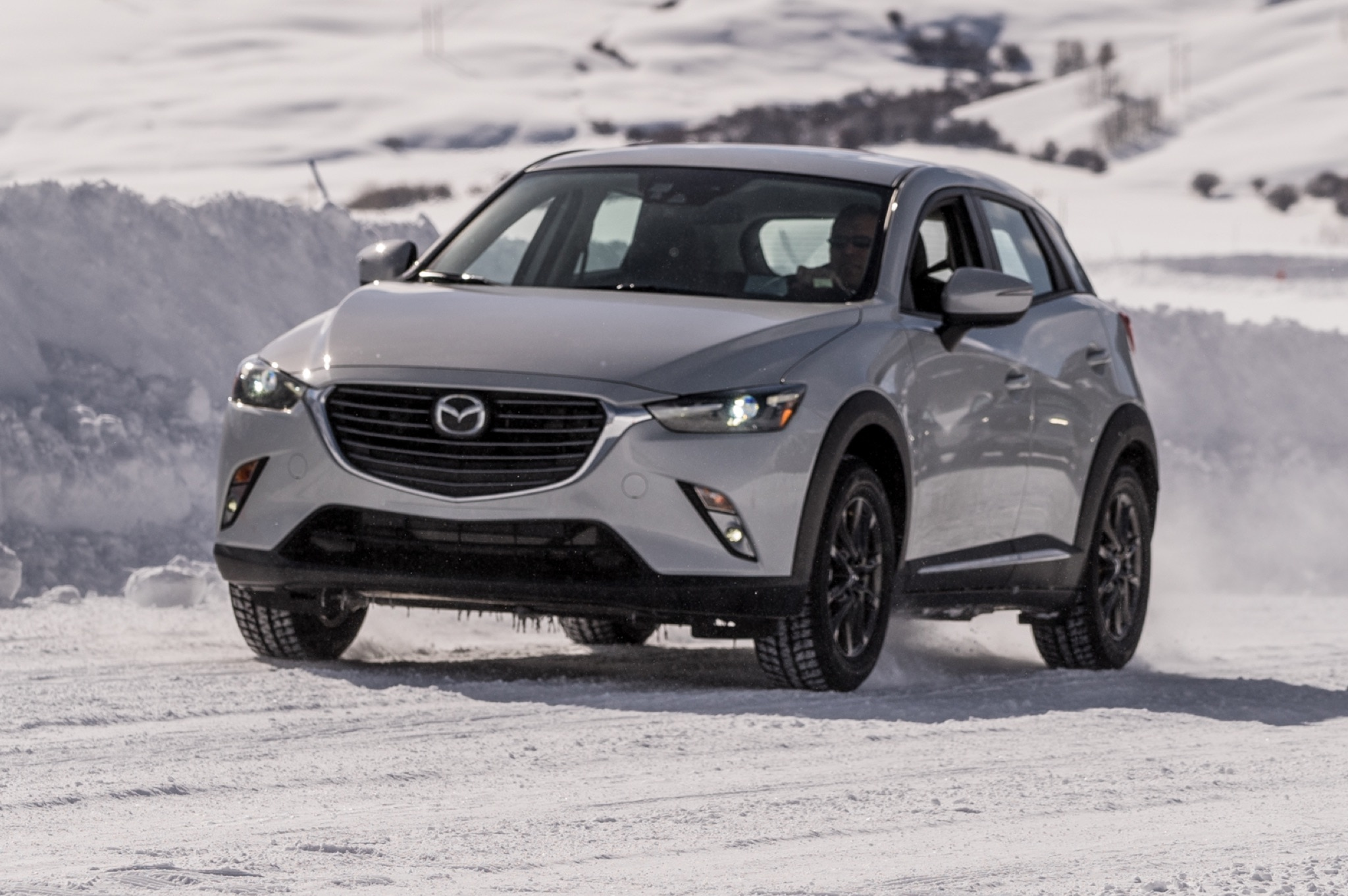 driving the mazda cx 3 cx 5 and mx 5 miata on snow and ice. Black Bedroom Furniture Sets. Home Design Ideas