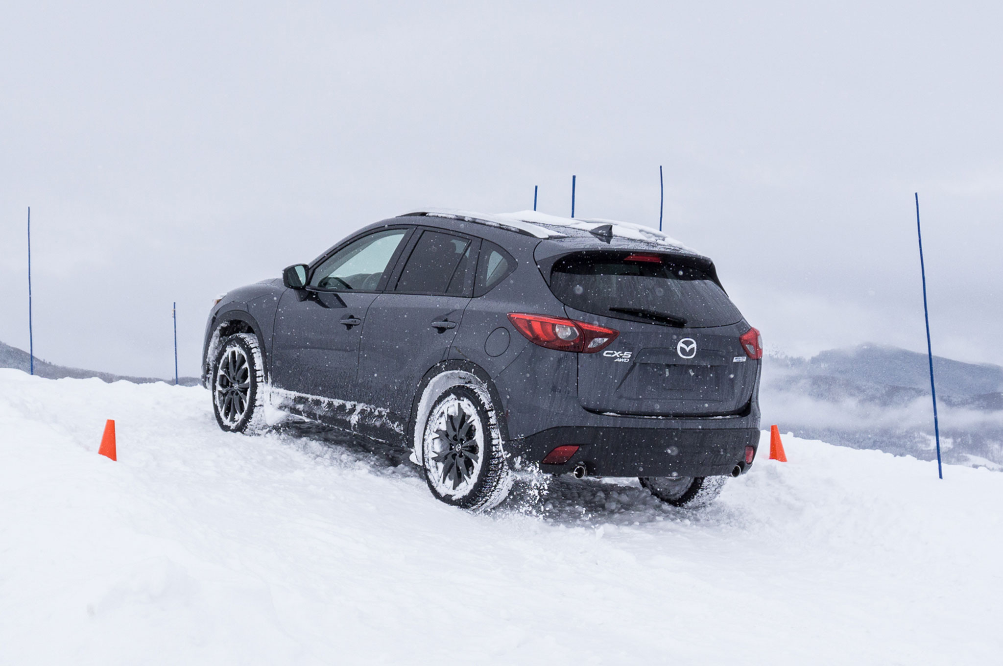 Driving The Mazda Cx 3 Cx 5 And Mx 5 Miata On Snow And Ice