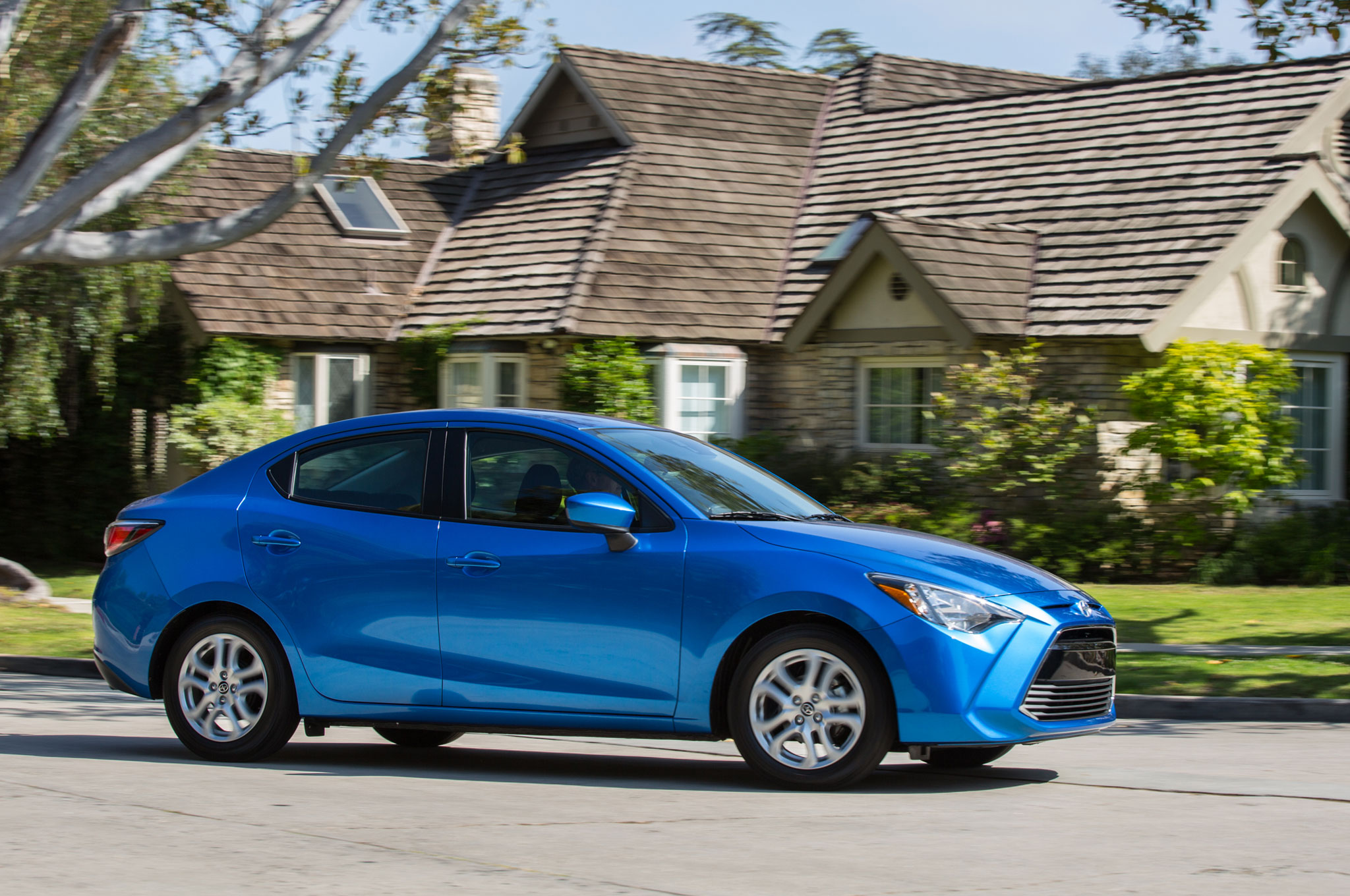 2016 Scion IA Front Three Quarter In Motion 141