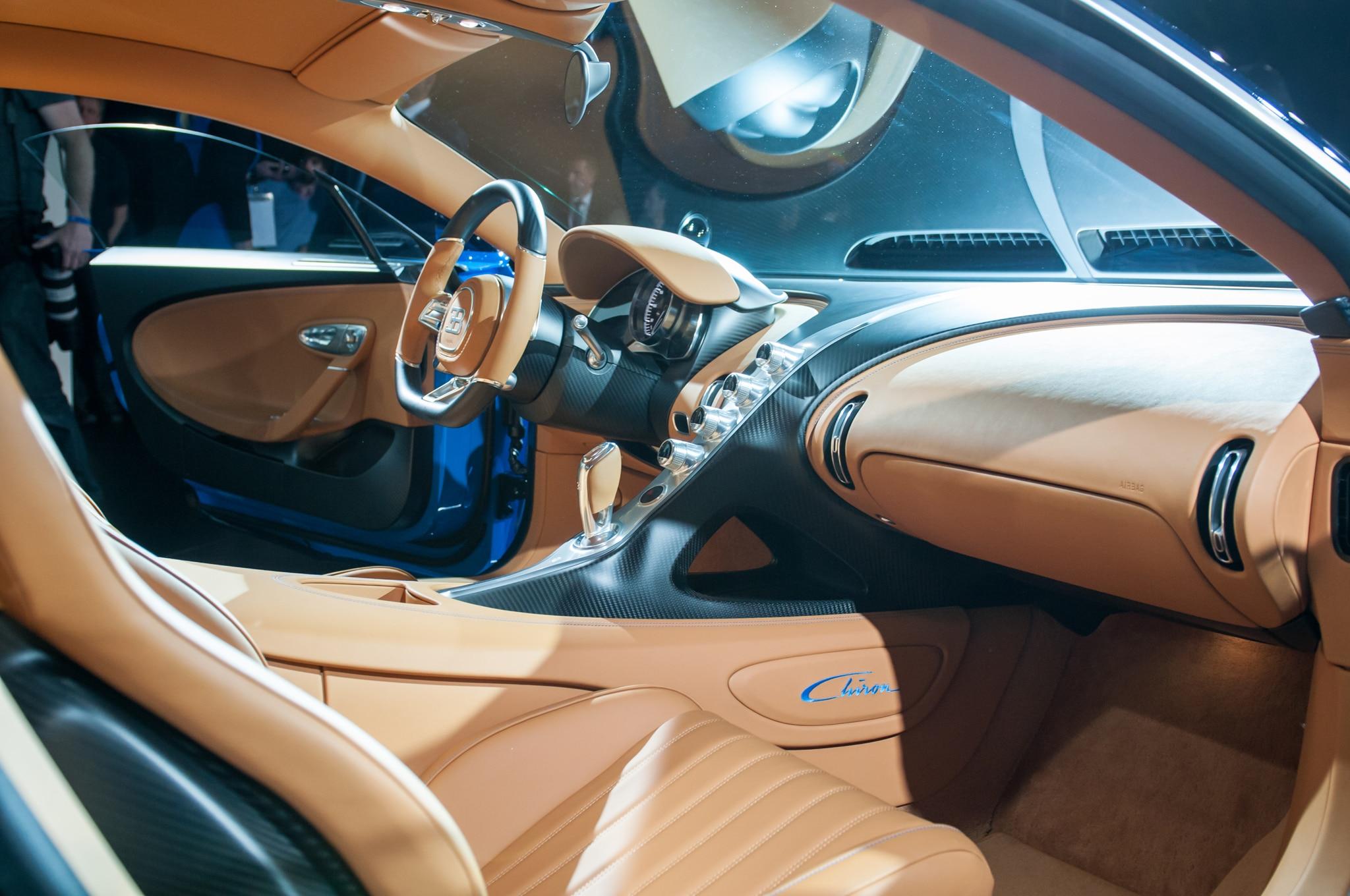 Bugatti 2017 interior