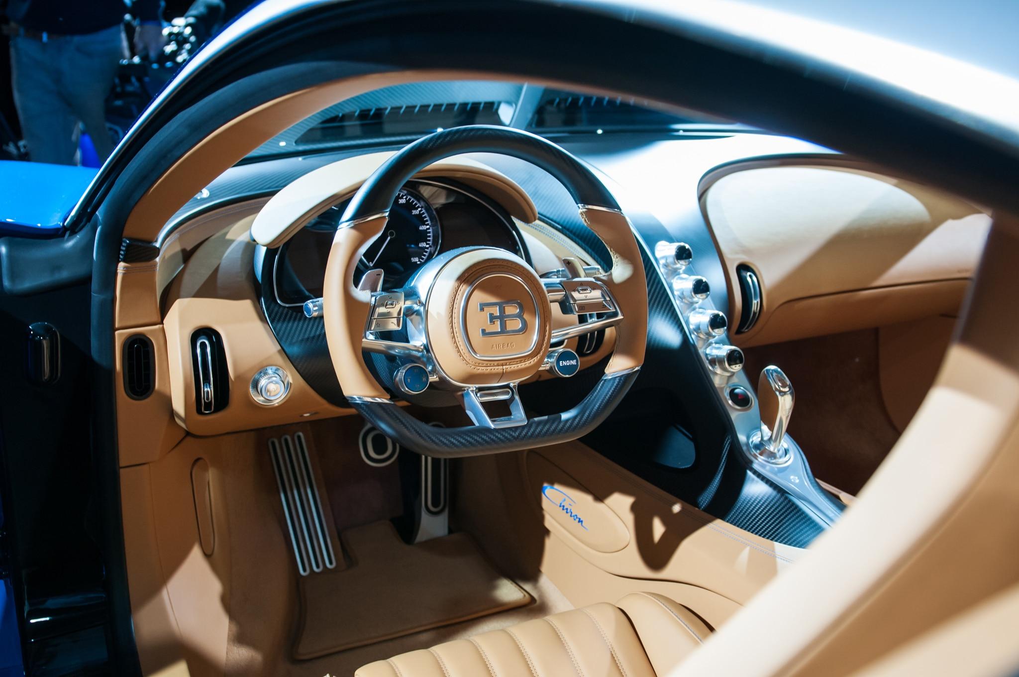 bugatti chiron is a 1,500-hp, 280-mph, physics-defying masterpiece