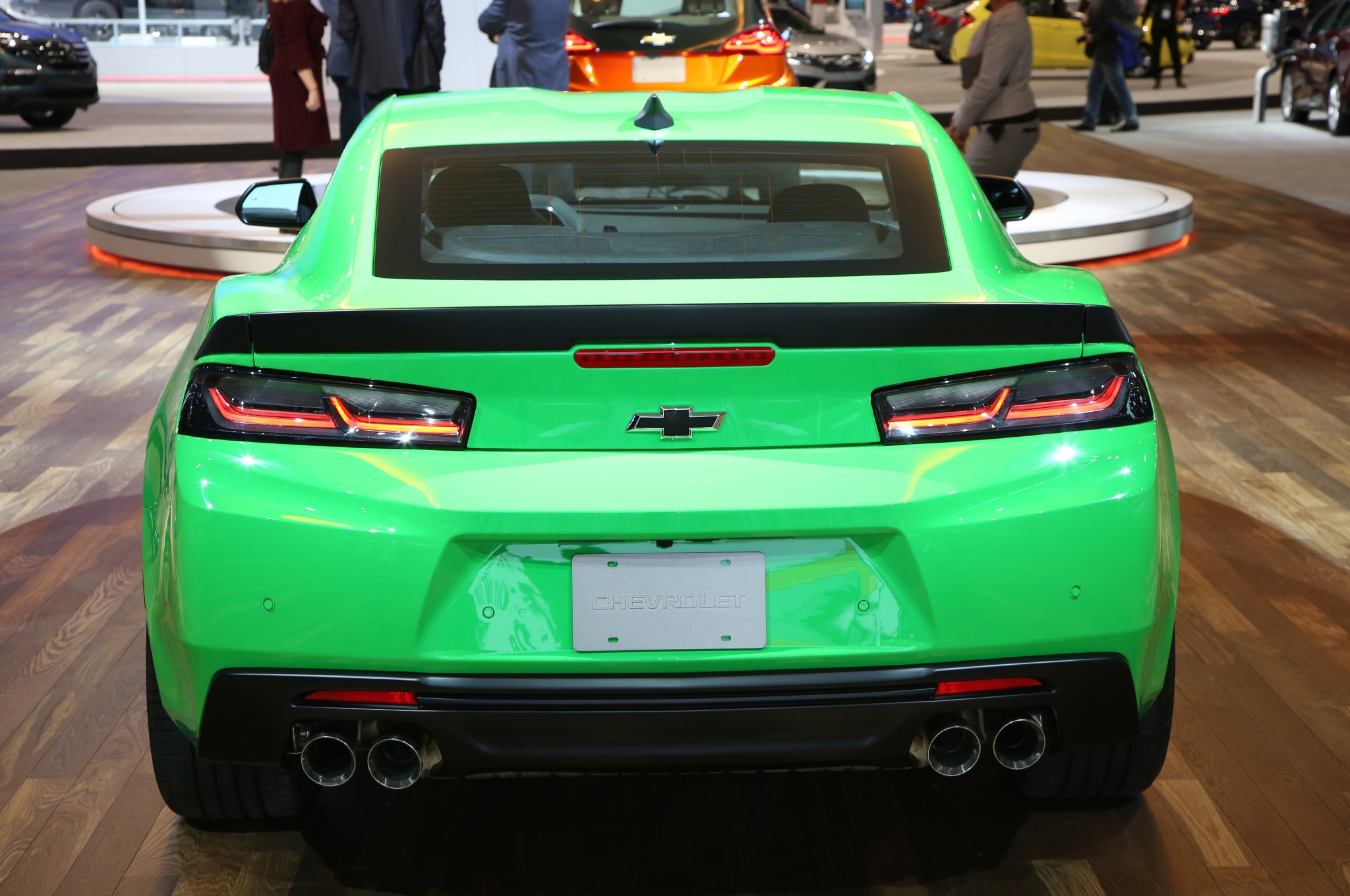 12 Things You Didn T Know About The 2017 Chevrolet Camaro 1le