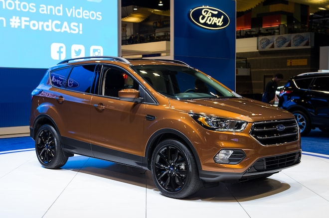 2017 Ford Escape Sport Apperance Package Front Three Quarter