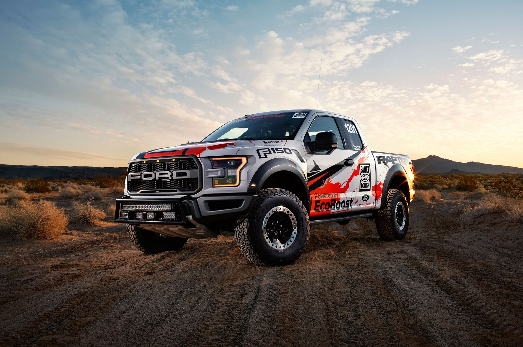2017 Ford F 150 Raptor Heads To Best In The Desert Off Road Race