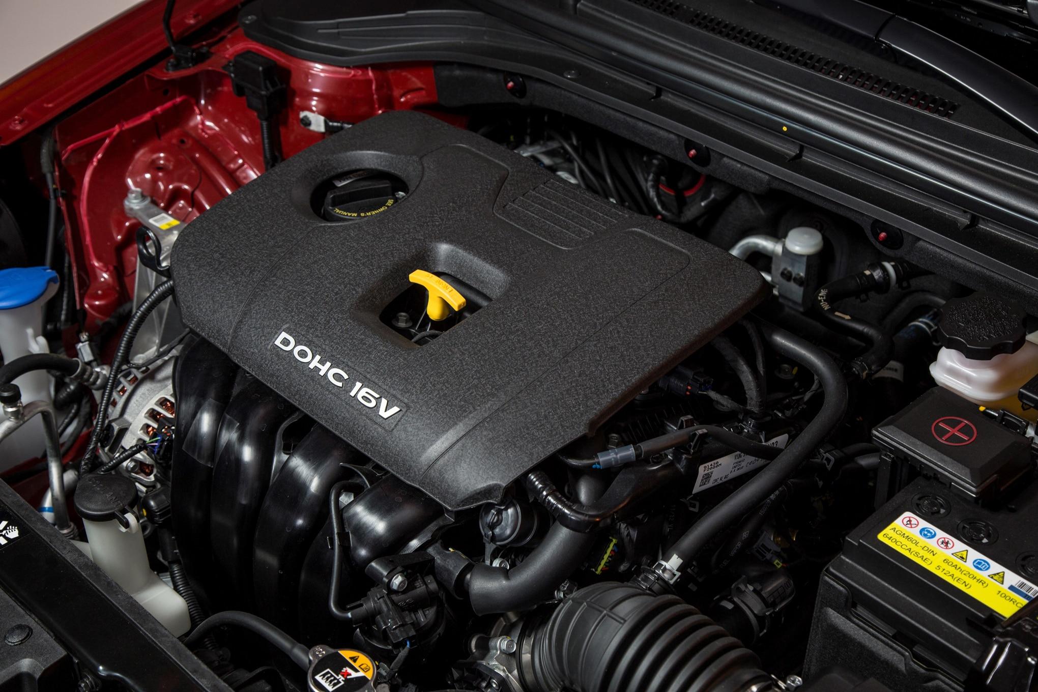 Elantra engine size