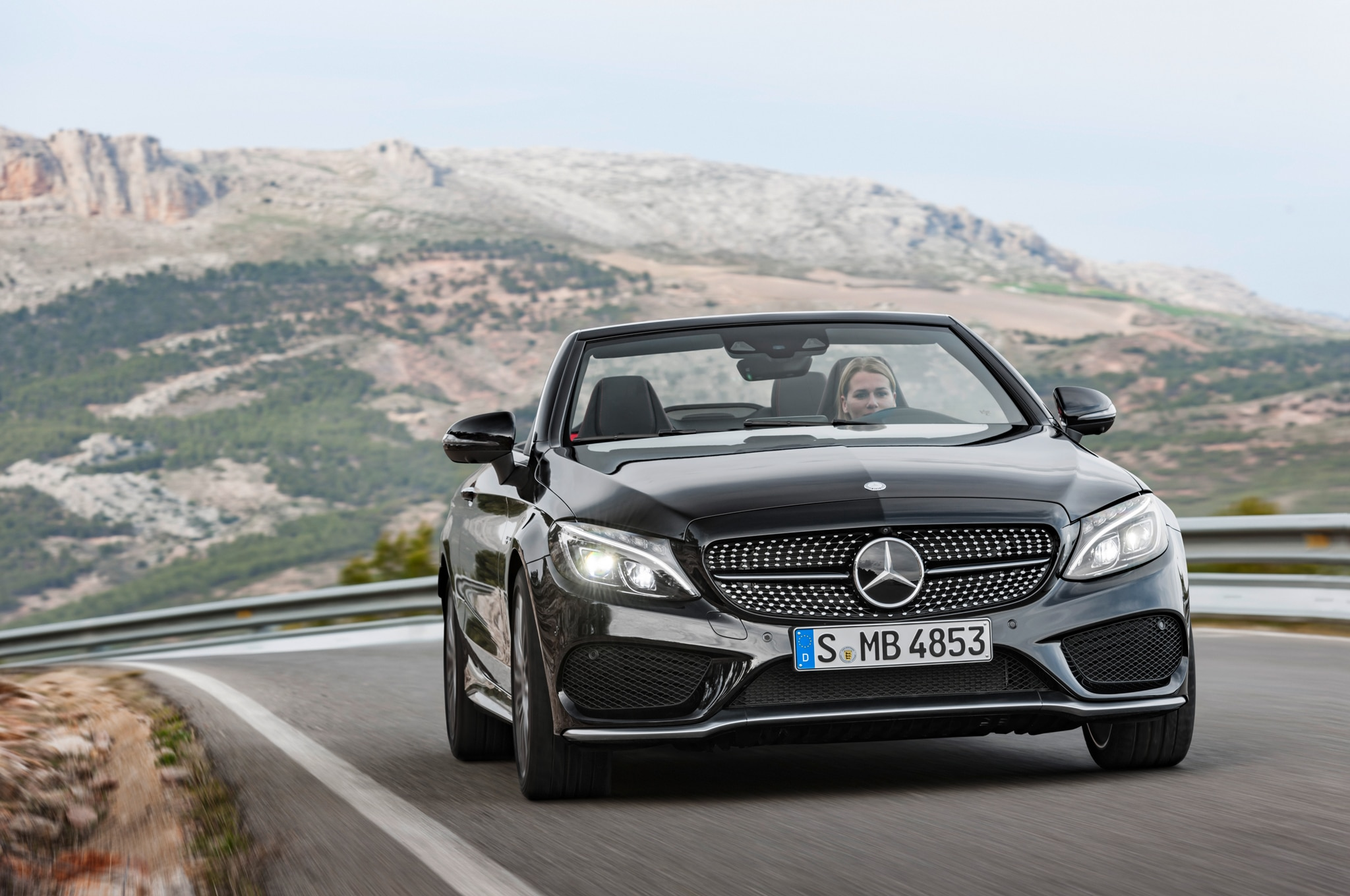 2017 Mercedes-Benz C-Class Cabriolet Revealed in C300, AMG