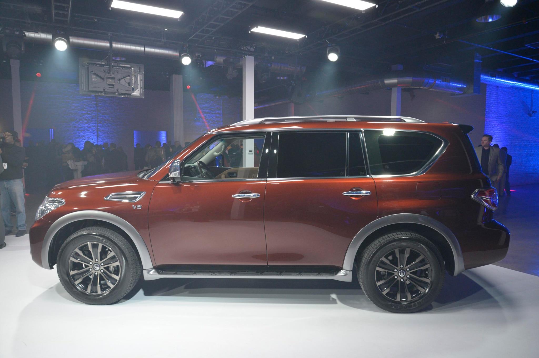 Nissan Pathfinder Platinum >> 2017 Nissan Armada Takes On the Toyota Land Cruiser