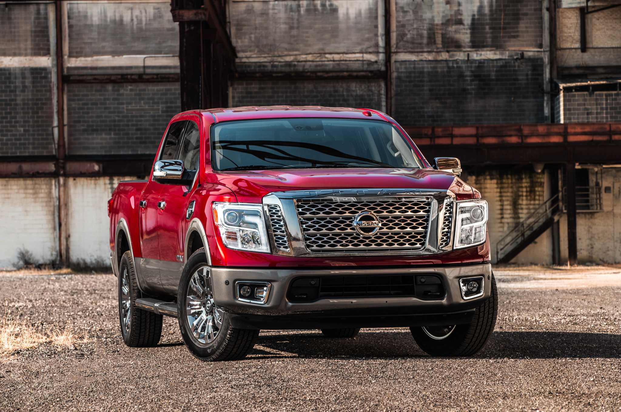 2017 Nissan Titan V 8 Crew Cab First Drive Road Test And Review Frontier Trailer Brake Wiring Show More