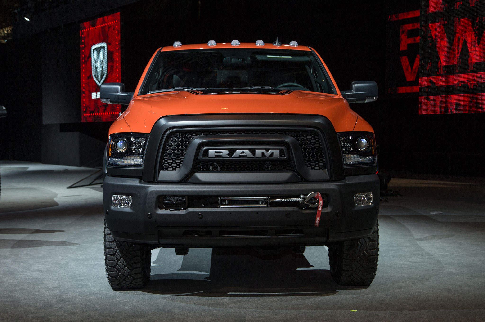 2017 Ram 2500 Power Wagon Adopts a Rebel-Like Face ...