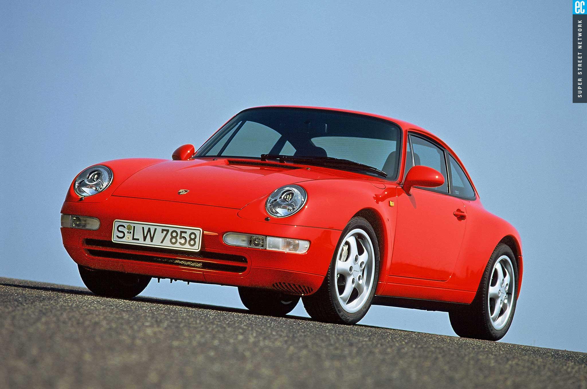 95 98 Porsche 993 Front Bumper