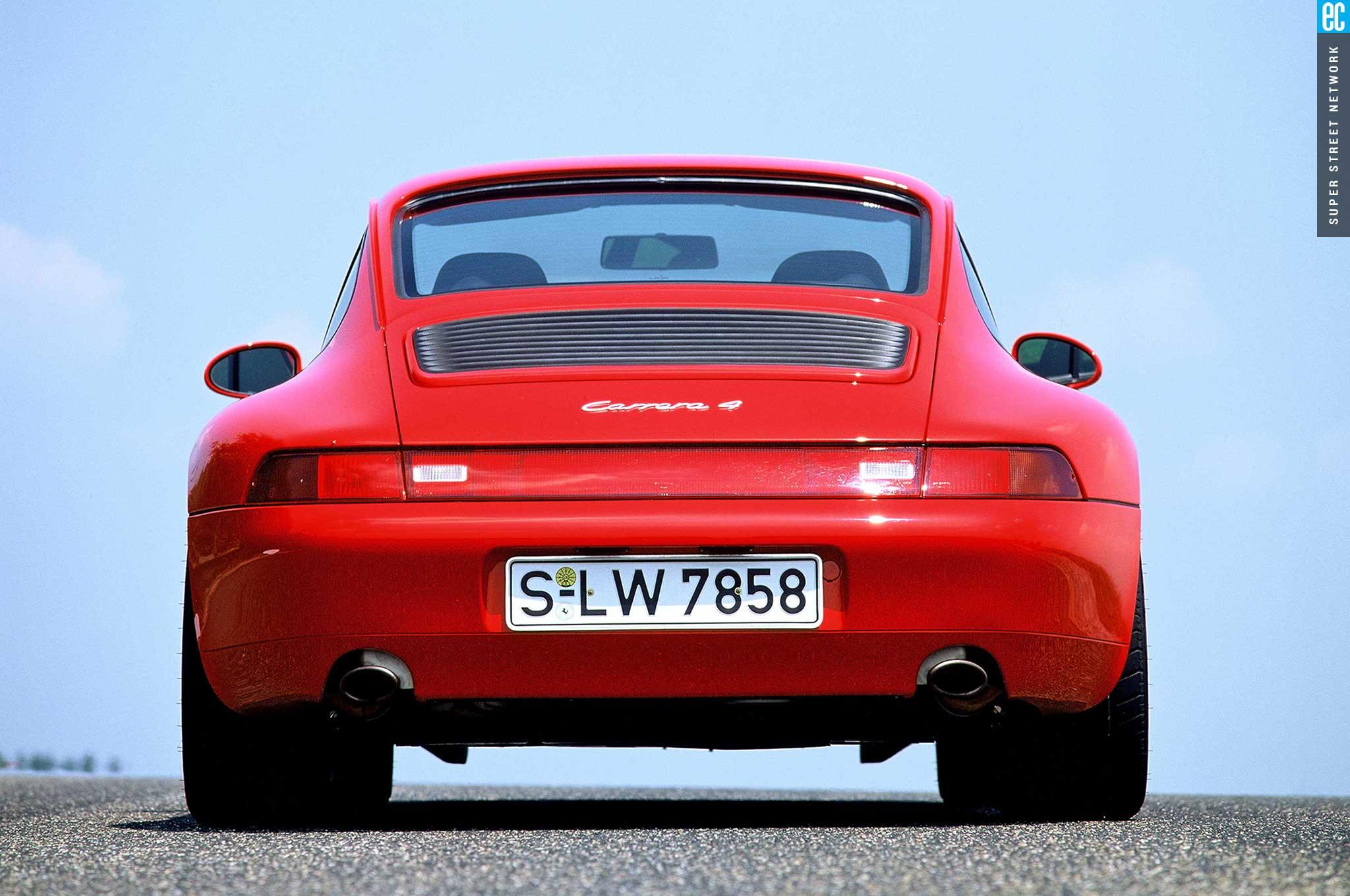 95 98 porsche 993 rear bumper