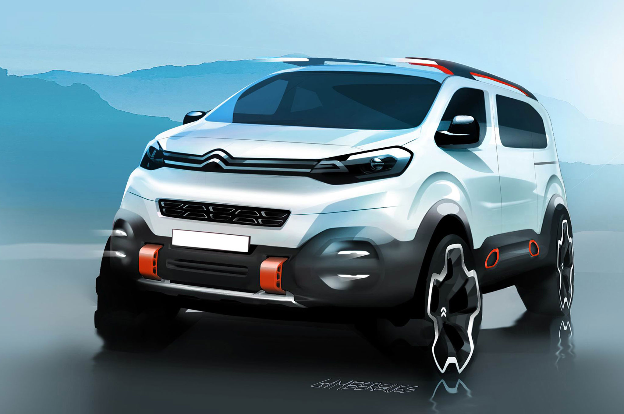 Citroen SpaceTourer Hyphen Concept Proves Vans Are Still ...