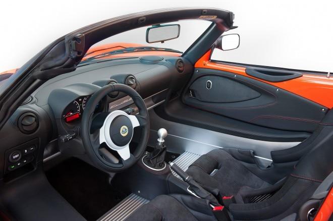 Lotus Elise Cup 250 inside