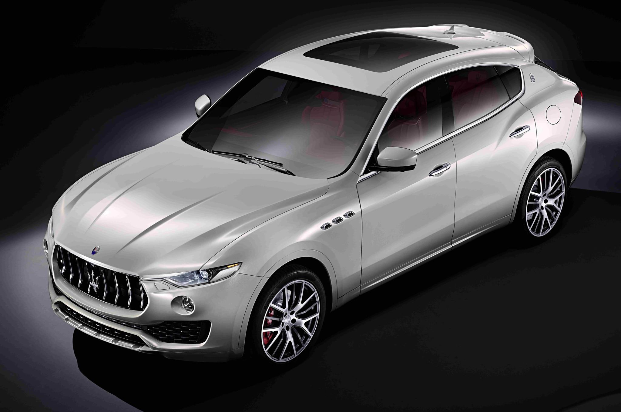 Maserati Levante From Above 1