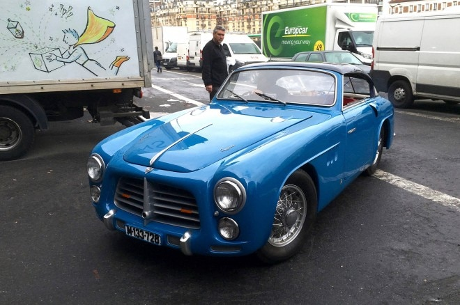 Paris Retromobile 1951 Pegaso