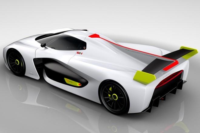 Pininfarina H2 Speed Concept rear three quarter