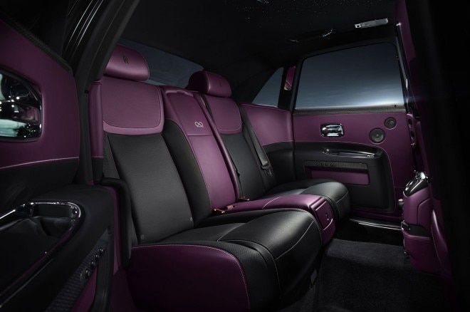 Rolls Royce Ghost Black Badge cabin