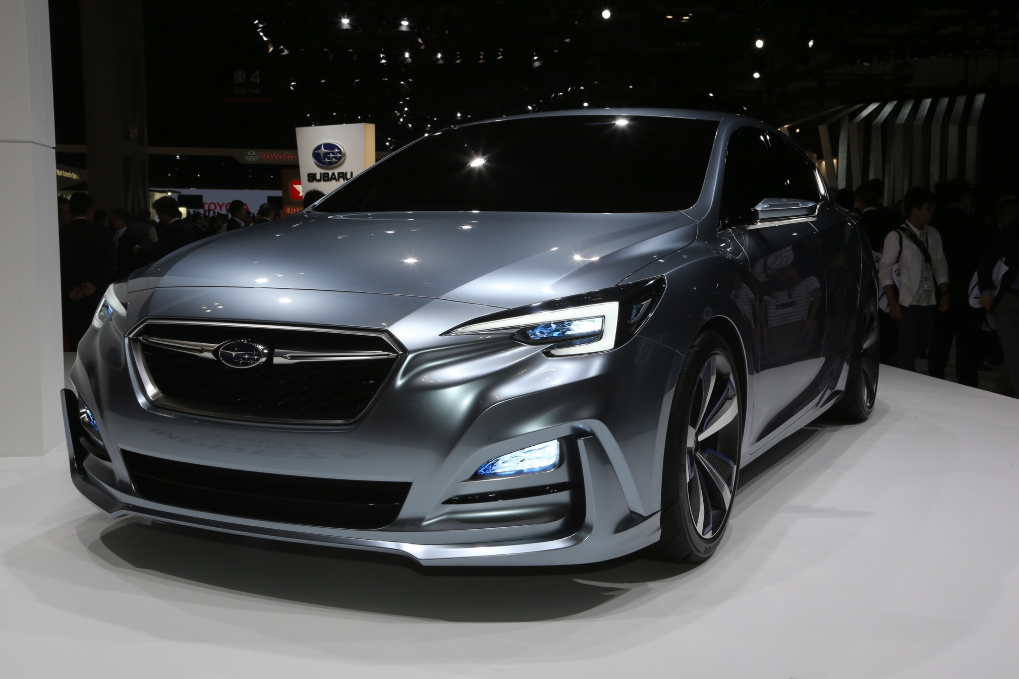 Subaru Impreza Concept front three quarter