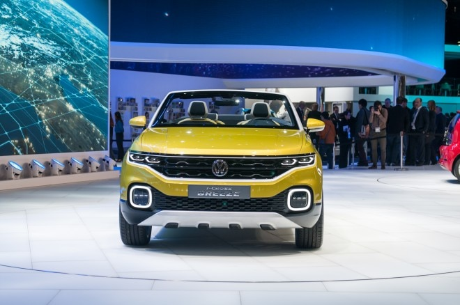 Volkswagen T Cross Breeze Concept front end