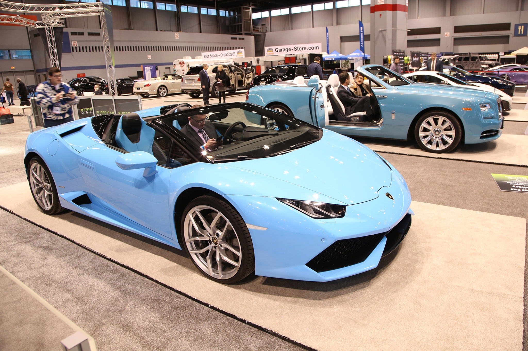 The Exotics And Supercars You Need To See At The Chicago
