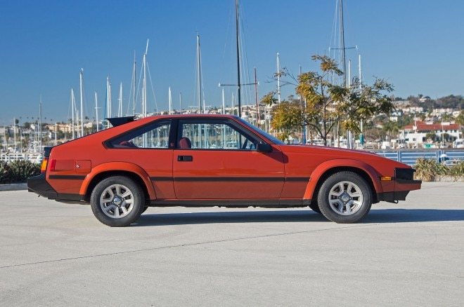 1982 Toyota Supra P Type side profile