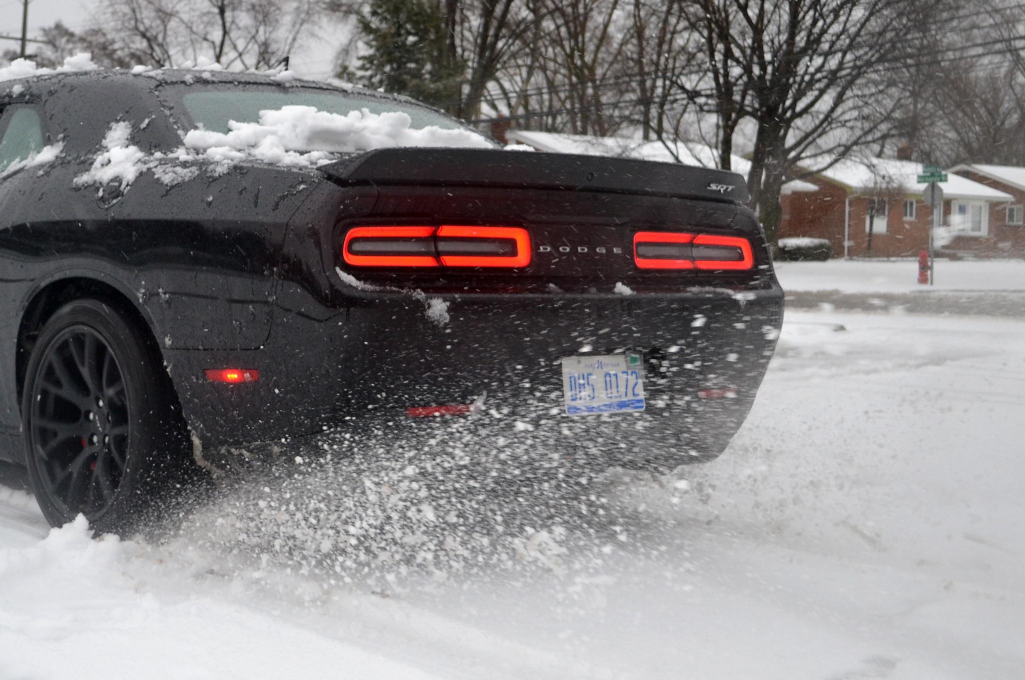Snow tires for dodge challenger