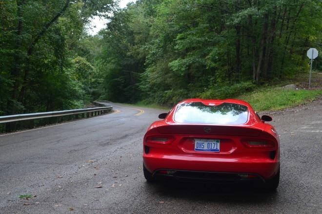 2015 Dodge Viper GT Ohio rear