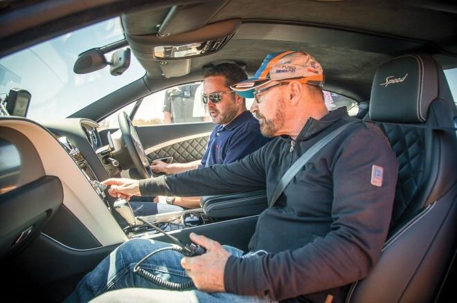 2016 Bentley Continental GT Speed cabin 02