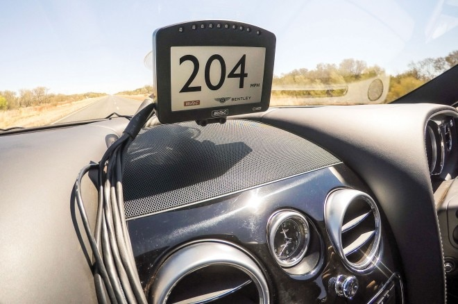 2016 Bentley Continental GT Speed dashboard 01