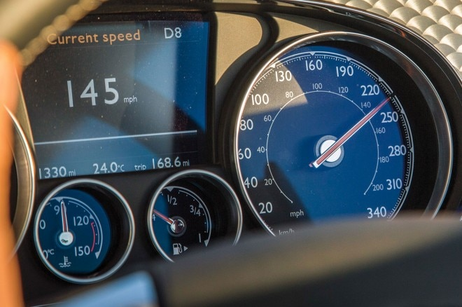 2016 Bentley Continental GT Speed instrument gauge cluster