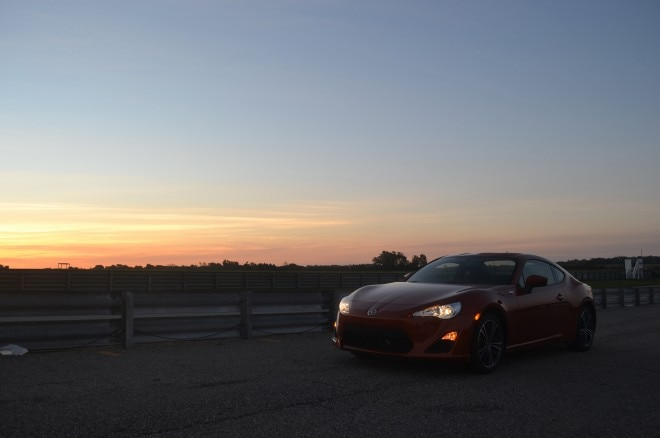 2016 Scion FR S Gingerman front three quarters morning
