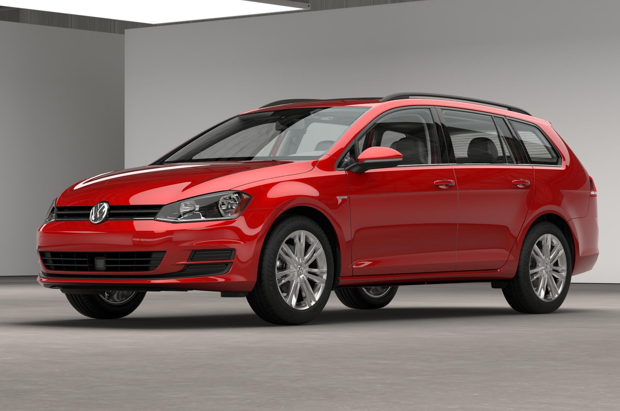 2016 Volkswagen Golf Sportwagen Limited Edition Front Three Quarter Studio